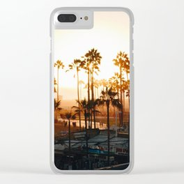 Venice Beach Photography Clear iPhone Case