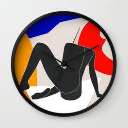 Abstract Art Nude 2 Wall Clock