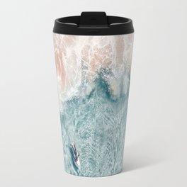 Pink Foam Travel Mug