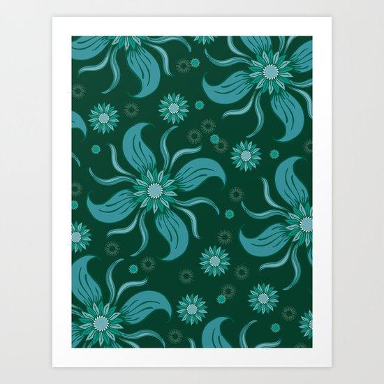 Floral Obscura Art Print