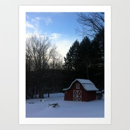 Rustic America: Grandma's Barn Art Print