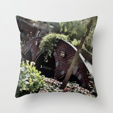 Taking Over The Scenery Throw Pillow