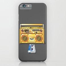 Droid Ghettoblaster Boombox Slim Case iPhone 6s