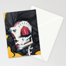 Madame Muerte PAINT Stationery Cards