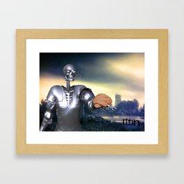 Hamlet Science-Fiction Framed Art Print