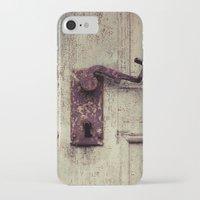 door iPhone & iPod Cases featuring door by Deviens