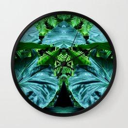 Botanic Rapture - Lillypad Wall Clock