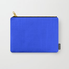 Cheapest Solid Deep Blue Orchid Color Carry-All Pouch
