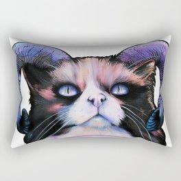 Occult Cat Lovers Ritual Rectangular Pillow