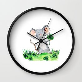 Melvin the Mouse Wall Clock