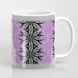 black and purple Coffee Mug