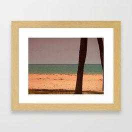 Ouidah Beach Framed Art Print