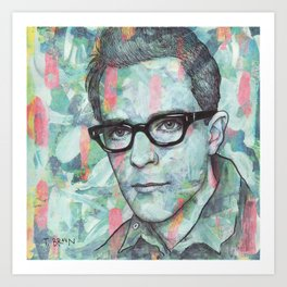Rivers Cuomo - Tell Me Who's That Funky Dude Art Print