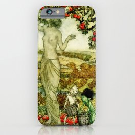 Wood Nymph iPhone Case