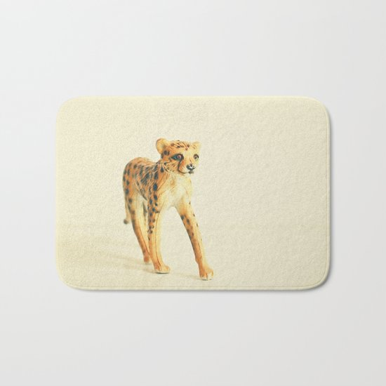 Catwalk Cheetah Bath Mat