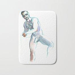 JESSE, Nude Male by Frank-Joseph Bath Mat