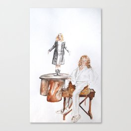 Richard Daynes wears his own clothes ii Canvas Print