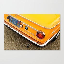 Orange Gum Canvas Print