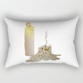Born to burn Rectangular Pillow