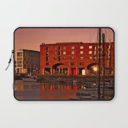 Albert Docks, Liverpool Laptop Sleeve