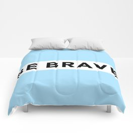 BE BRAVE Summer COLLECTION Blue Comforters