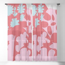 Fashion Mix Colors Sheer Curtain