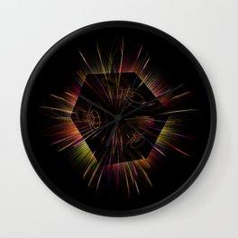 Light show 4 Wall Clock