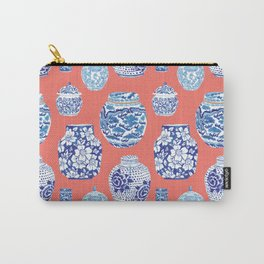 Chinoiserie Ginger Jar Collection No.4 Carry-All Pouch