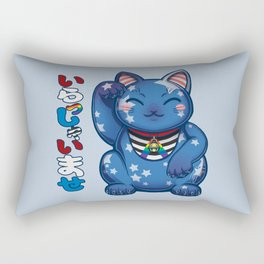 Maneki Neko Liberty - Ally Rectangular Pillow
