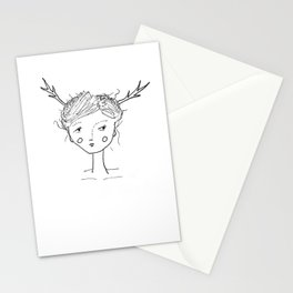 They Came Last Night Stationery Cards
