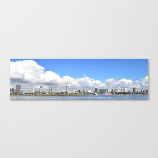 To Long Beach I Go Canvas Print