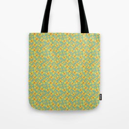 Yellow Butterflies Tote Bag