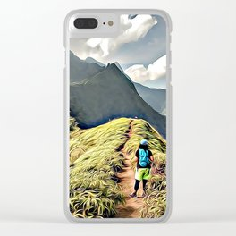 Starring the future Clear iPhone Case