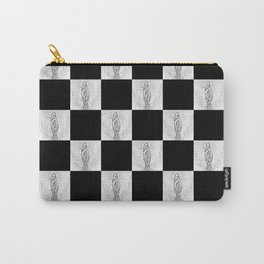 Checkerboard Pussy Carry-All Pouch
