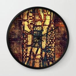 Pictograph Wall Clock