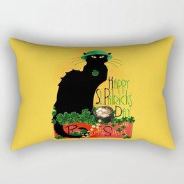 St Patrick's Day - Le Chat Noir Rectangular Pillow