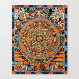 Mandala Buddhist 12 Canvas Print