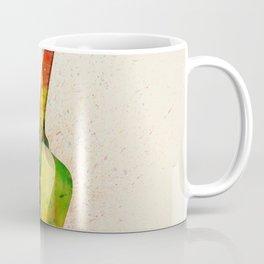 Acoustic Guitar Abstract Watercolor Coffee Mug