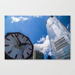 Is it time yet? Canvas Print