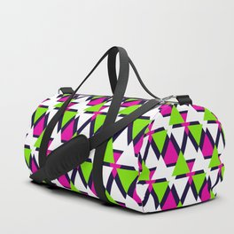Colorful triangles . No. 2 Duffle Bag