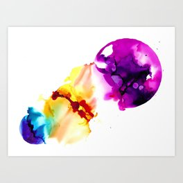Cell Collapse Art Print
