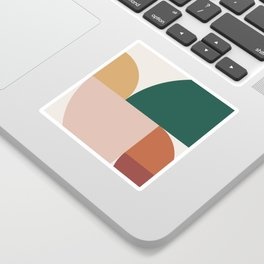 Abstract Geometric 11 Sticker
