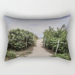 I Want to Take This Path Rectangular Pillow