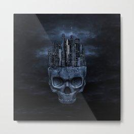 Dark city Metal Print