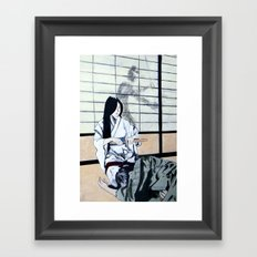 Forced Entry II Framed Art Print