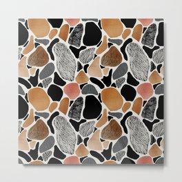 Colored stones. Metal Print