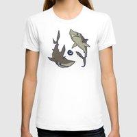 sharks T-shirts featuring Sharks by Anya McNaughton