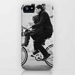 Brothers biking  iPhone Case