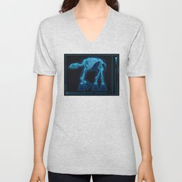 At-At Anatomy Unisex V-Neck