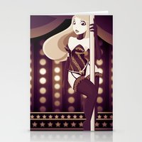 burlesque Stationery Cards featuring Burlesque by ihasb33r